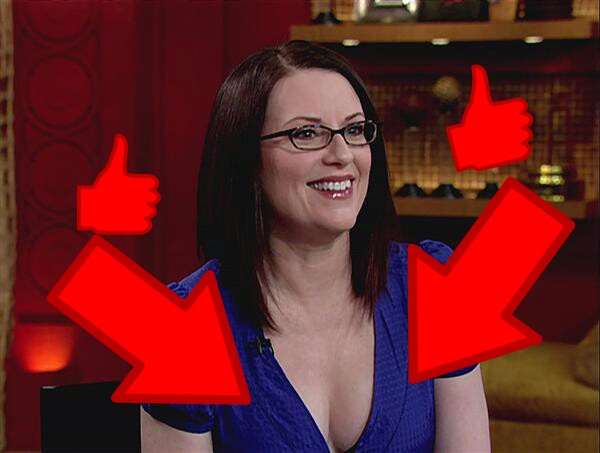 Boob megan mullally