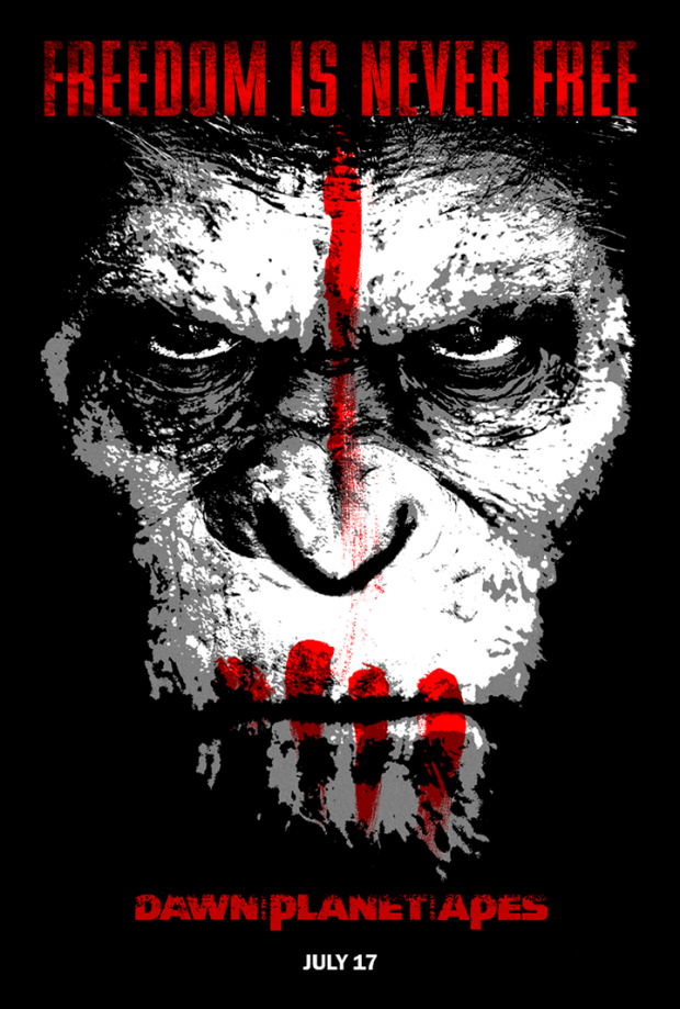 Dawn Of The Planet Of The Apes 2014 A Review Full Of Monkey Business Screenkicker