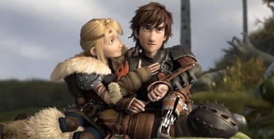 Hiccup using the old 'cross your legs to hide your boner' trick