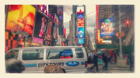 Times Square: In loads of films but I can't remember one right now